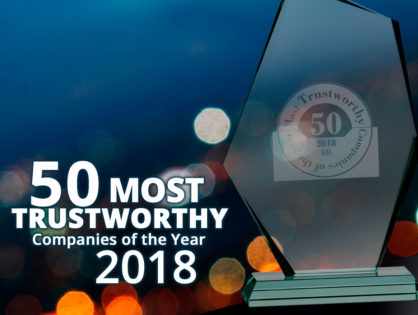 Welfont Named to Top 50 Most Trusted Companies in America