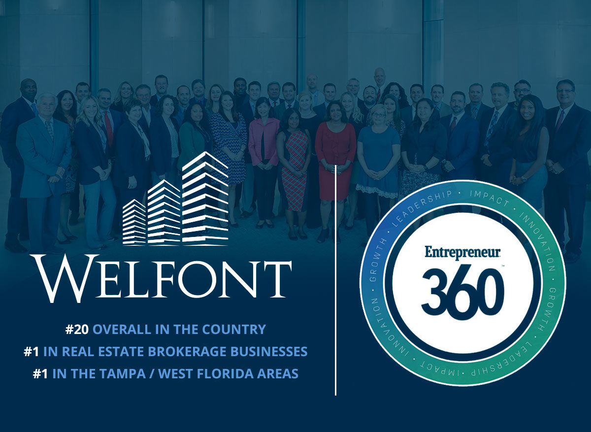 Entrepreneur Magazine Names Welfont #20 Best Entrepreneurial Company in America
