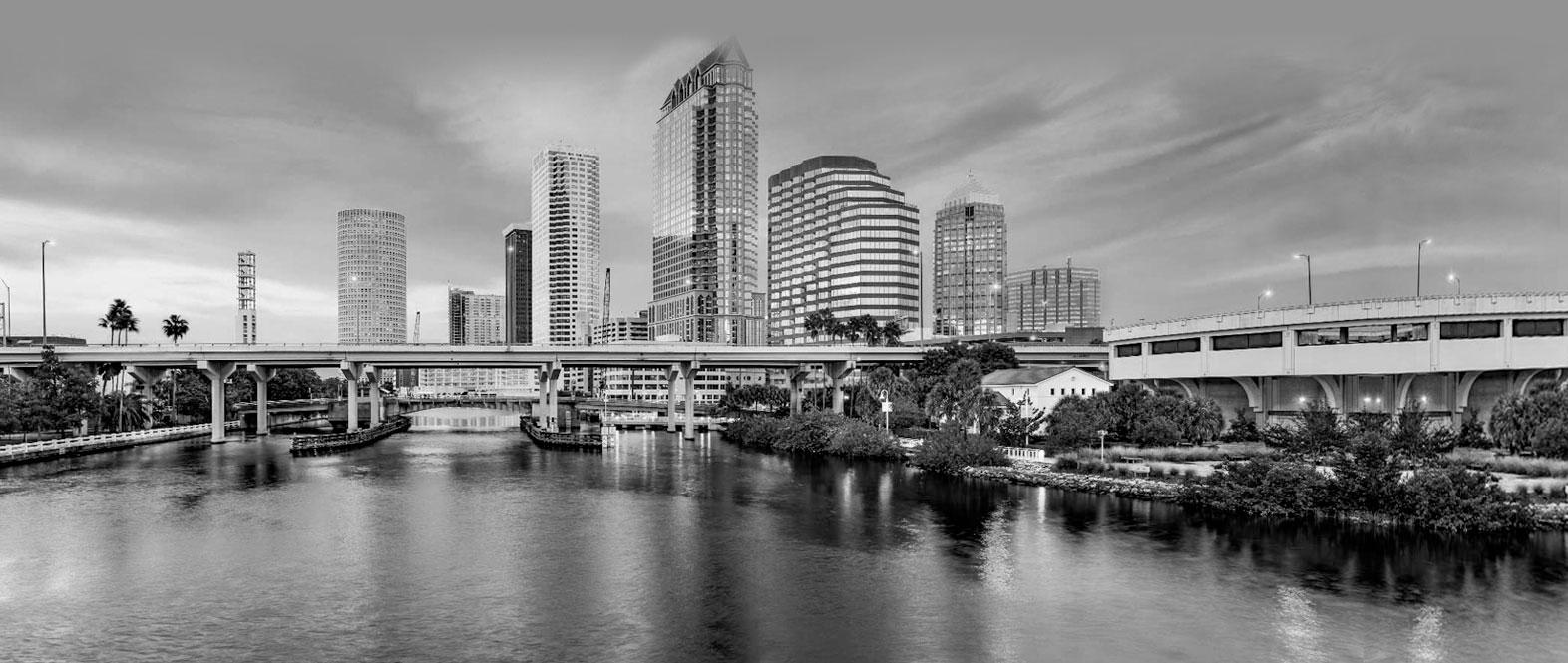 Tampa Skyline Welfont