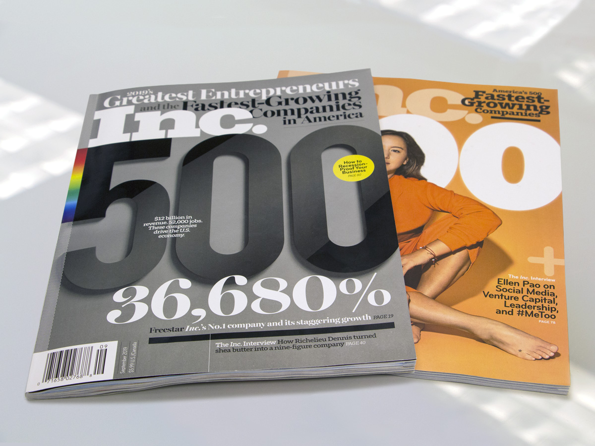 2019 Inc. 5000 | Welfont Press Release